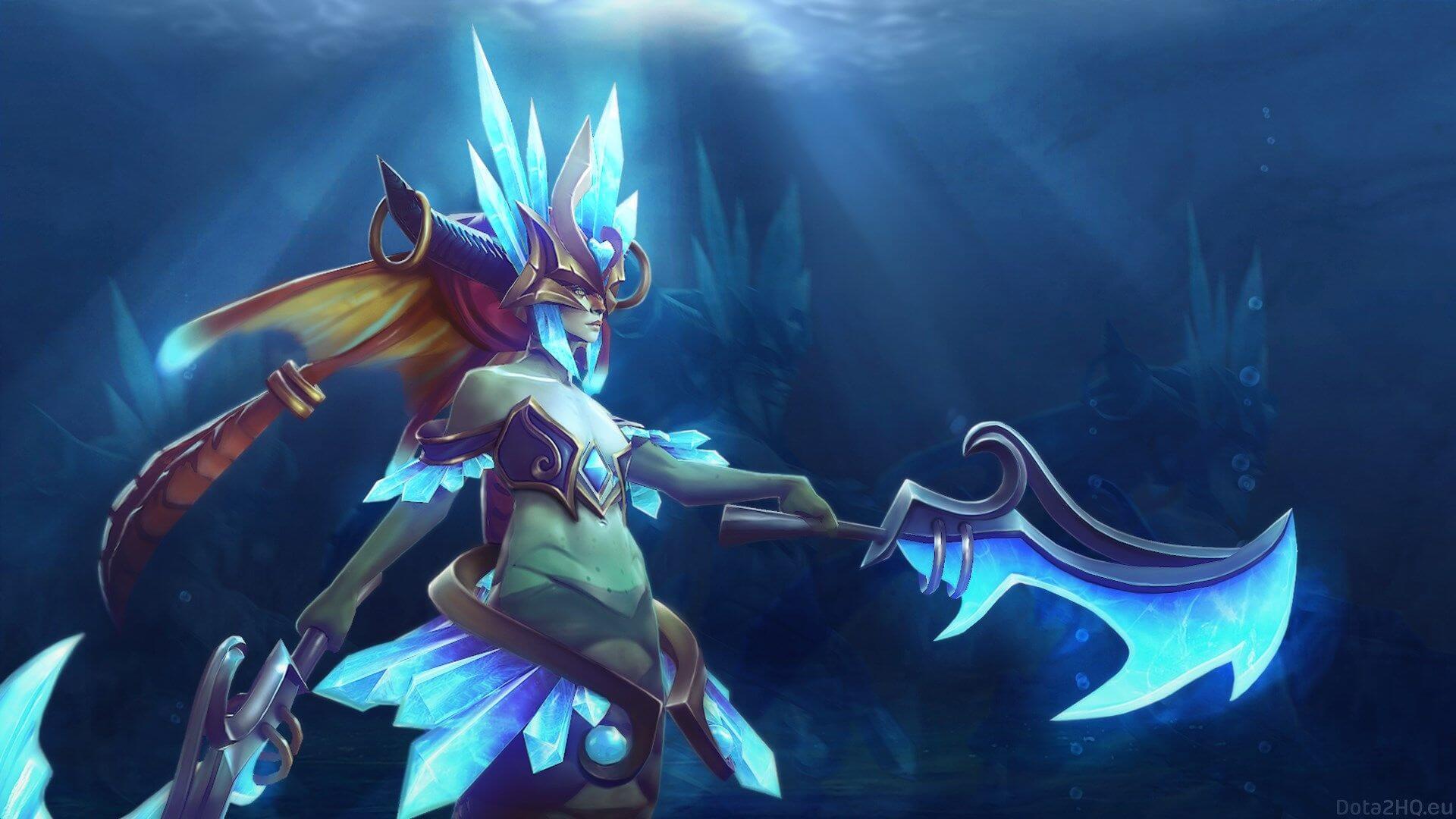 Naga Siren – история героя Dota 2
