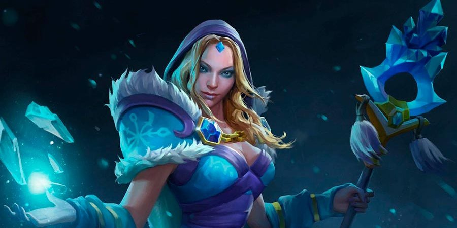 История Crystal Maiden