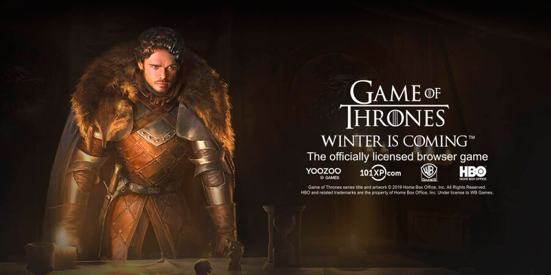 Браузерная игра Game of Thrones: Winter is Coming вышла в релиз в России