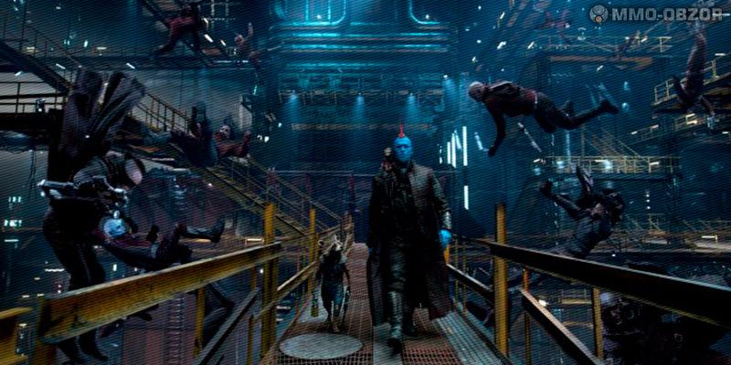 Йонду, Ракета и Грут сбегают из тюрьмы