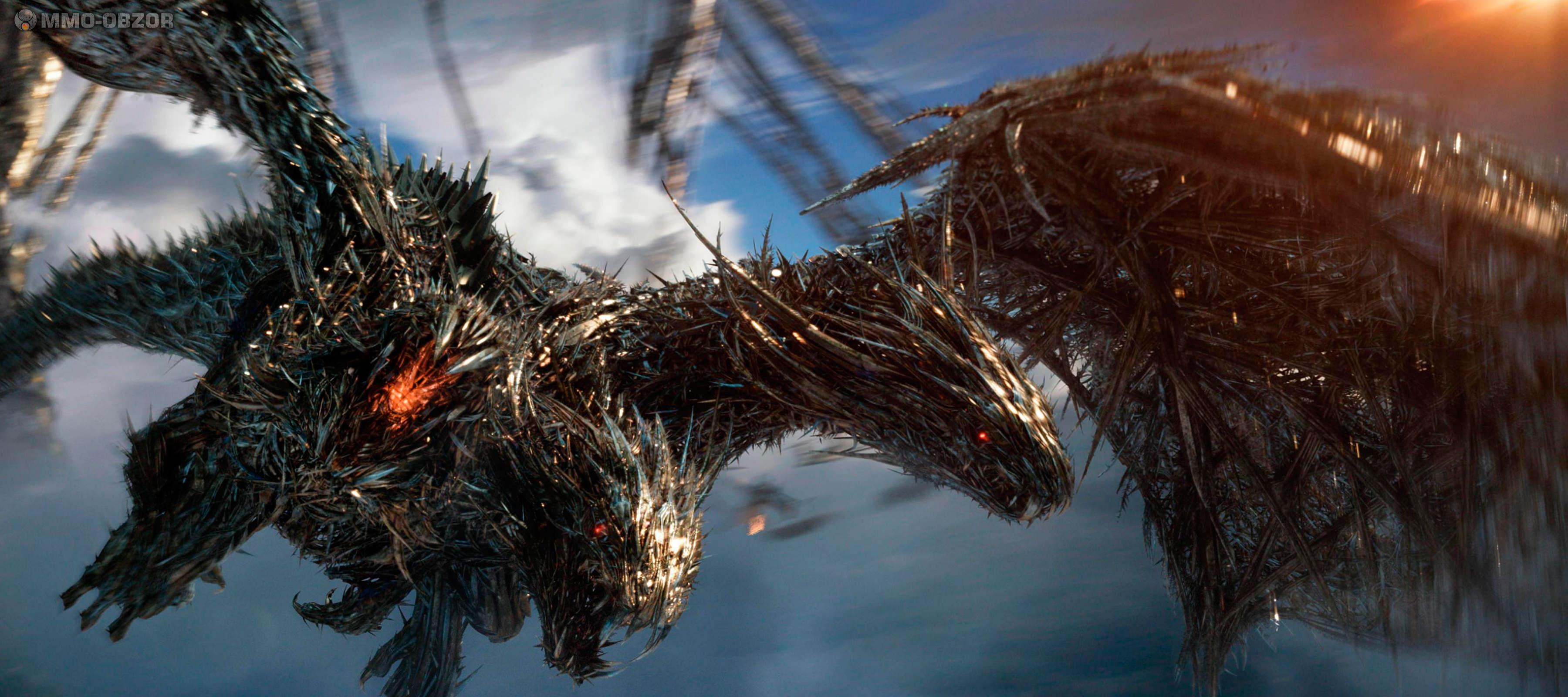 >Трёхглавый дракон-защитник